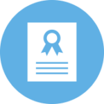 Award paper icon