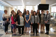 2017 SMWC Honor Society of Nursing inductees