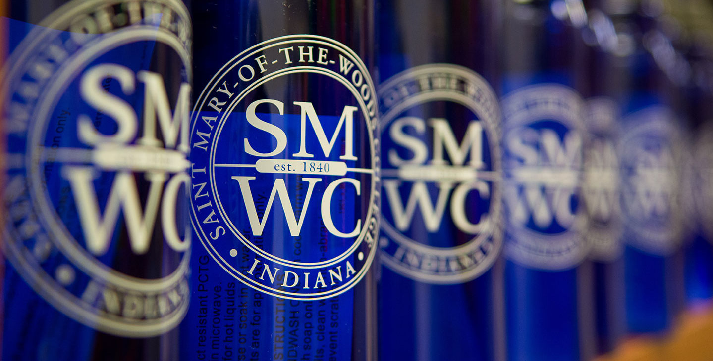 Row of bottles with SMWC logo