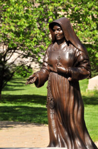 Saint Mother Theodore Guerin Sculpture