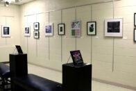 Art exhibit in the art gallery