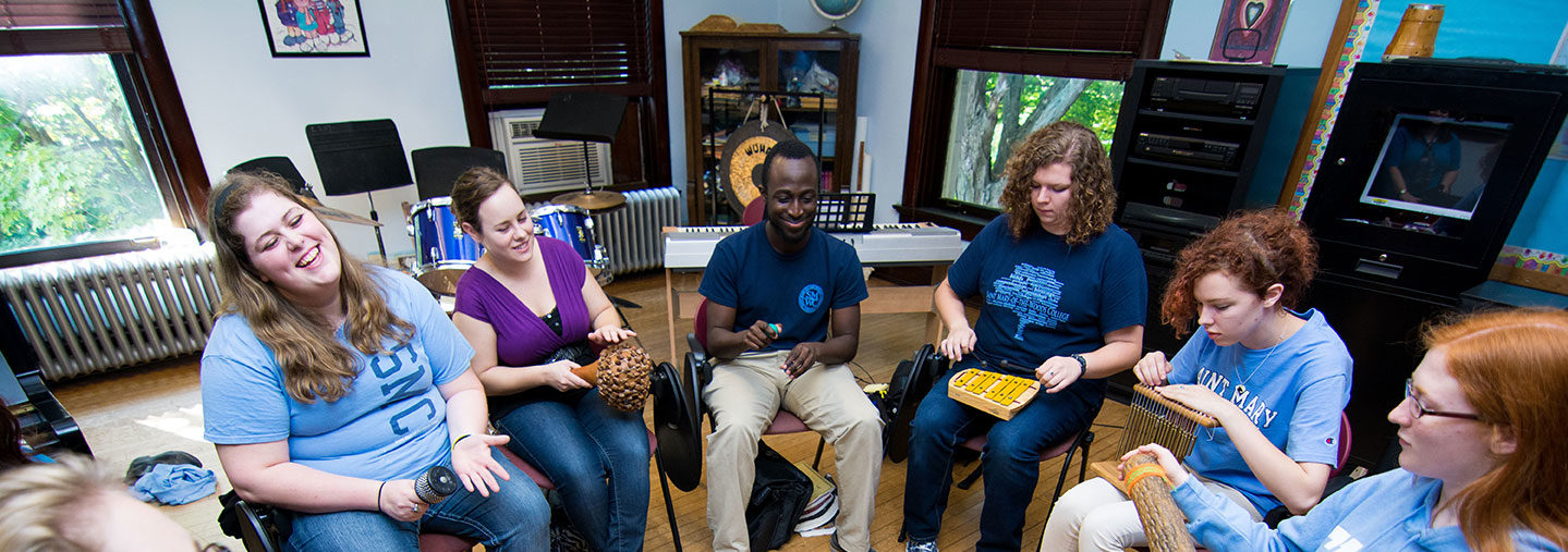 Music Therapy drum circle