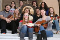 Members of the Music Therapy Club