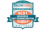 College Choice Ranking: Best Degrees in Bachelors in Early Childhood Education Online