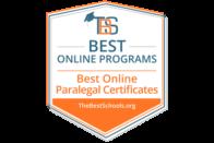 Best Online Paralegal Certificates - TheBestSchools.org