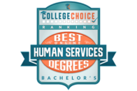 College Choice Ranking: Best Degrees in Bachelors in Humans Services Online