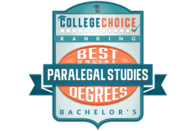 College Choice - Best Online Bachelors in Paralegal Studies Degrees