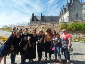 Students and faculty got the chance to visit the burial place of Leonardo da Vinci in the Royal Castle in Amboise.