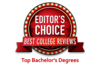 Editor's Choice - Best College Reviews: Top Bachelor's Degrees