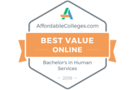 AffordableColleges.com - Best Value Online - Bachelor's in Human Services 2018