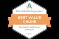 AffordableColleges.com - Best Value Online - Bachelor's in Human Services 2018