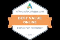 AffordableColleges.com - Best Value Online - Bachelor's in Psychology 2018