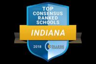 Top Consensus Ranked Schools - Indiana 2018 - College Consensus