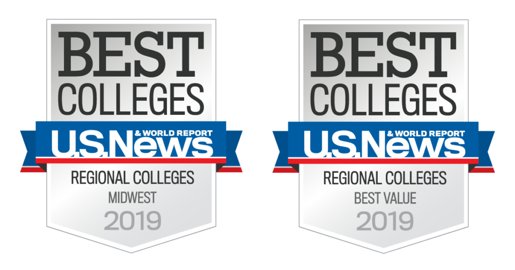 Best Colleges - U.S. News & World Report - Regional Colleges - Midwest, Best Value - 2019