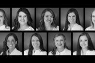 Portraits of the 2018 undergraduate Nursing class.