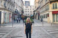 Fraley portrait in Paris