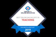 Center for Online Education - Best Online Bachelor's in Teaching - 2019