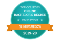 Top colleges - Online Bachelor's Degree - Education - OnlineDegrees.com 2019-20