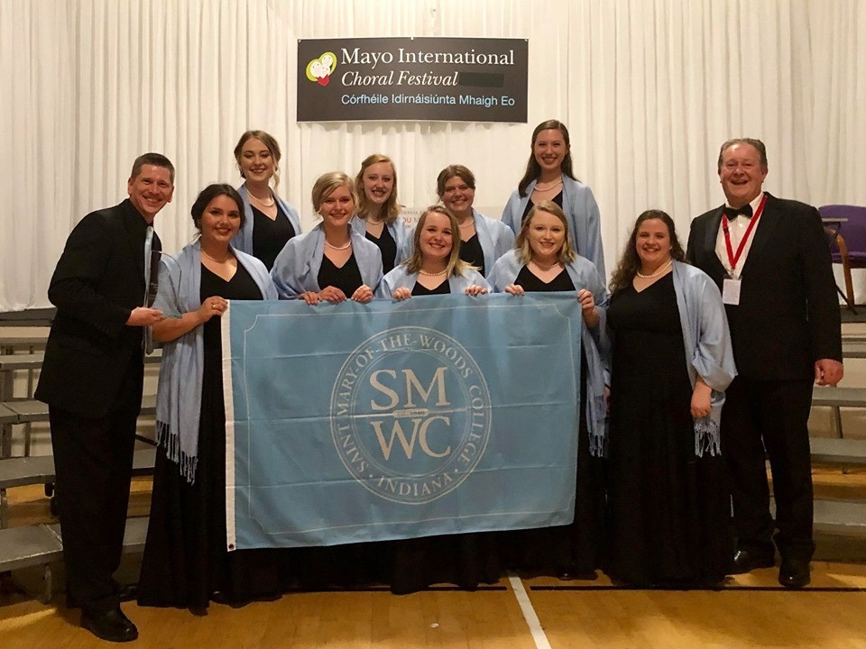 SMWC Madrigals wins Mayo International Choral Festival competition