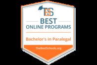Best Online Programs - Bachelor's in Paralegal - TheBestSchools.org