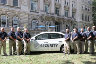 Public Safety with car