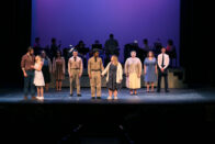 Cast of the musical Violet