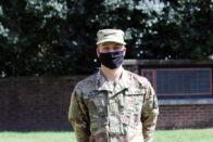 Wyatt Bales in uniform
