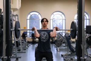 Student powerlifting