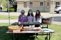 The Sustainability Club booth at Earth Day