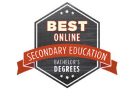 Best Online Secondary Education Bachelor's Degrees