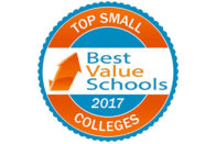 Best Value Schools Top Small Colleges 2017