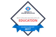 Center for Online Education Best Online Bachelor's in Education 2017 - OnlineColleges.net