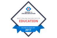 Center for Online Education Best Online Bachelor's in Education 2017 - OnlineColleges.net