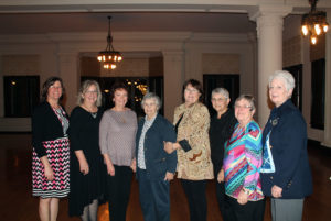The Terre Haute Alumni club at the 2017 donor dinner