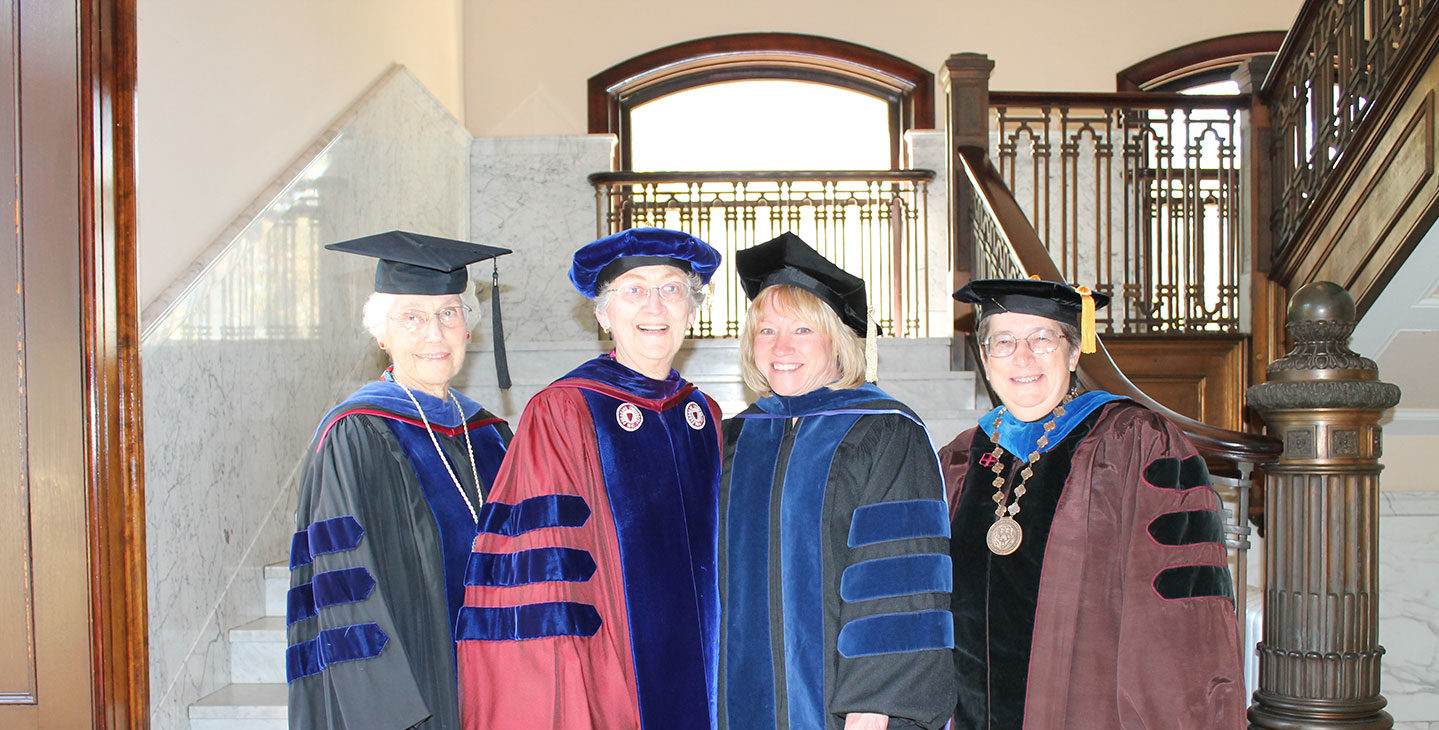 Four SMWC presidents together