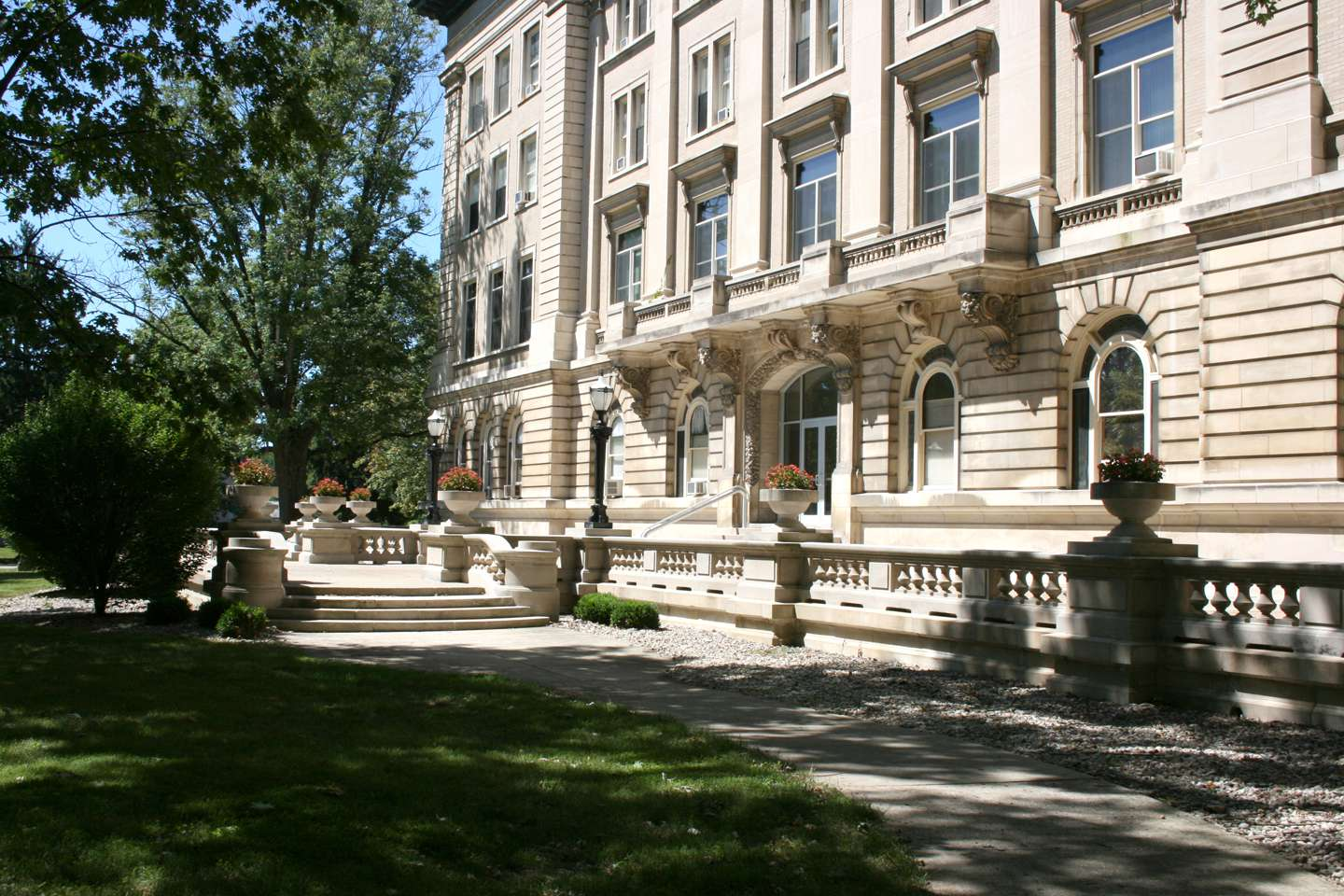 Guerin Hall front - exterior