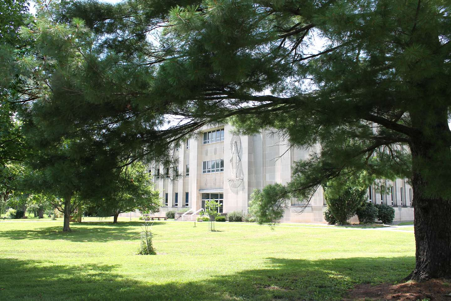 Rooney Library - exterior