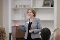 Susan Gresham presenting