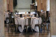 Guerin Hall rotunda - banquet setup