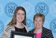 Harmony Walsh - student achievement banquet - 2017